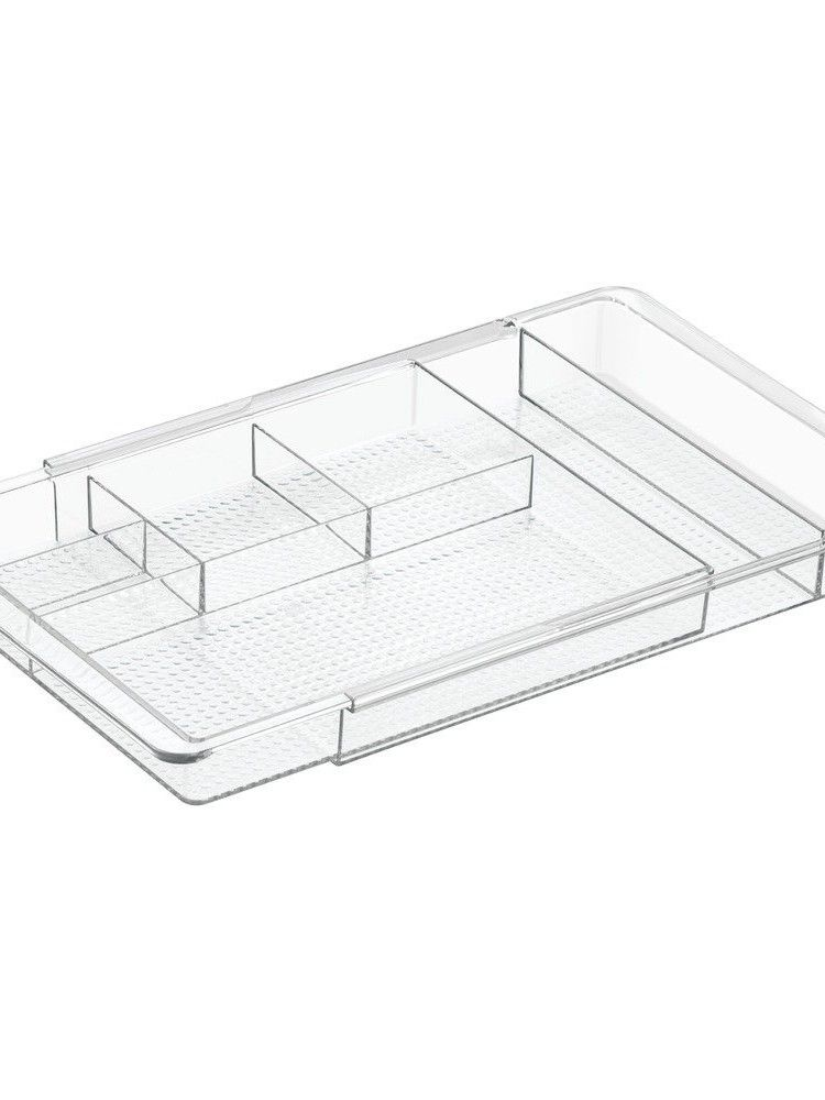 Photo Gallery For Photographers Amazon InterDesign Clarity Expandable Drawer Organizer Clear