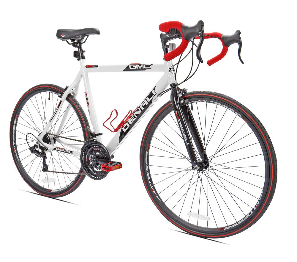 22 5 In Aluminum Frame 700c Gmc Denali Mens 21 Speed Road Bike