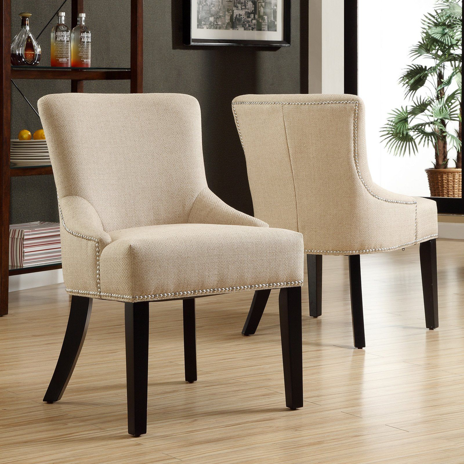 Have to have it kalyne linen chair beige set of 2