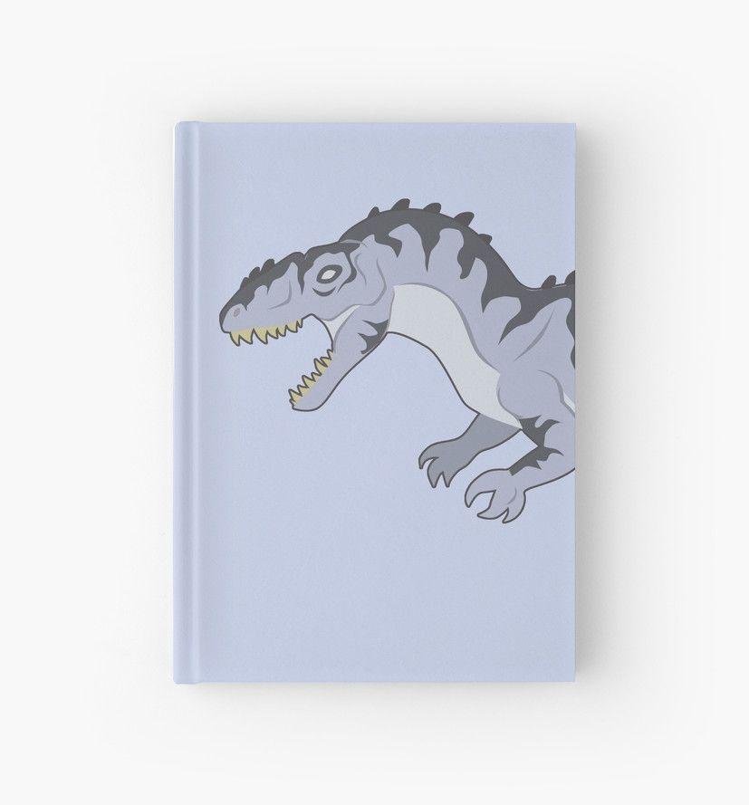 Giganotosaurus Journal #dinosaurs #jurassic #giganotosaurus #silver #grey