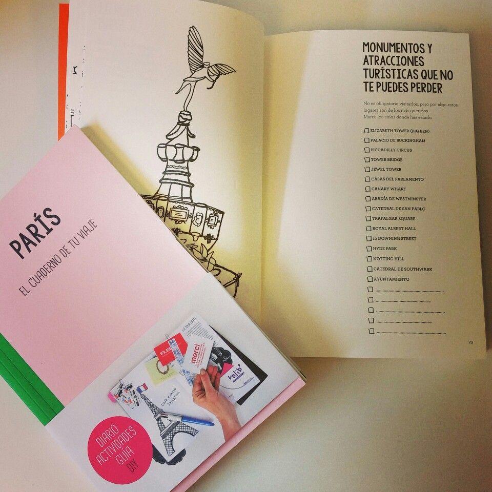 Cuadernillos de viaje por si tenéis pensado visitar París o Londres ...