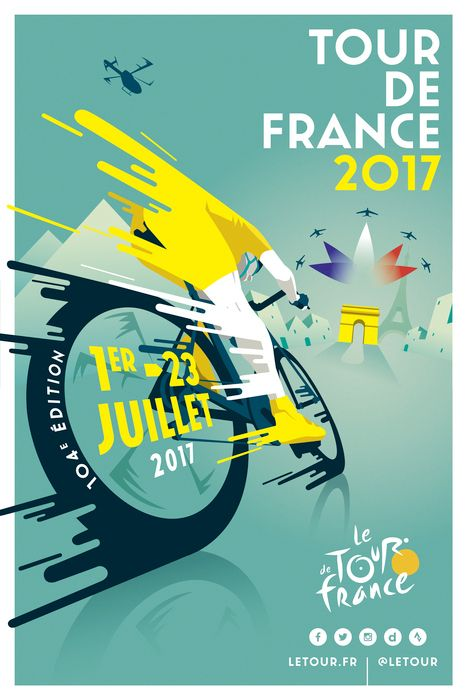 Httpsfiverraminulvdesign unique an eye catching modern tour de france 2017 by raphal teillet still evokes the feeling of original branding fandeluxe Ebook collections