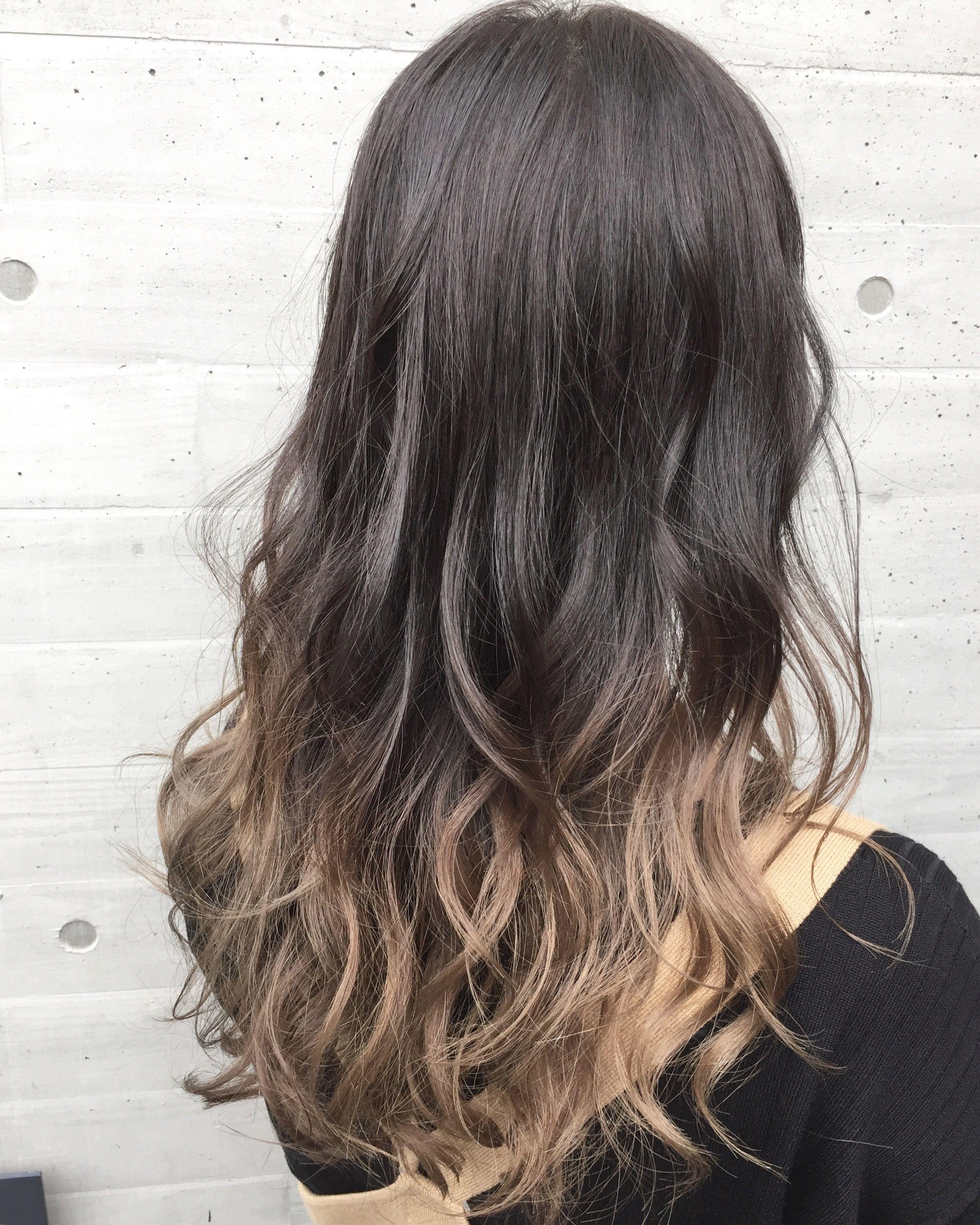 春に人気のグラデーションカラーをご紹介します 髪 グラデーション