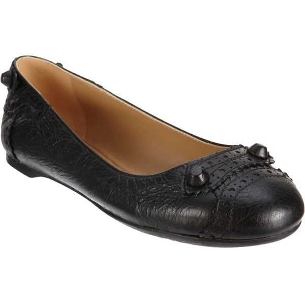 Pre-owned - Leather ballet flats Balenciaga zjrzhbX4GR
