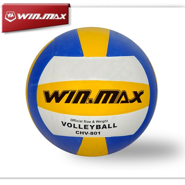 2015 Winmax Brand Machine Stitched Rubber Volleyball Ball Volleyball
