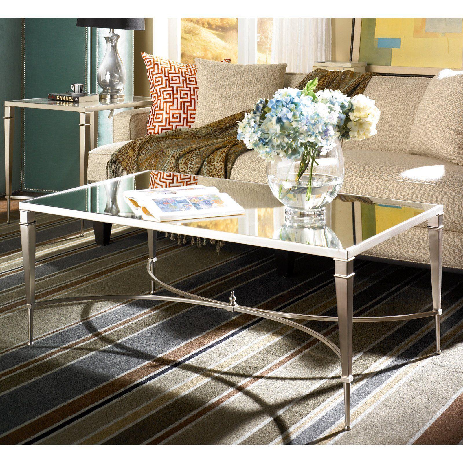 Best Hammary Mallory 2 Piece Rectangular Coffee Table Set 400 x 300
