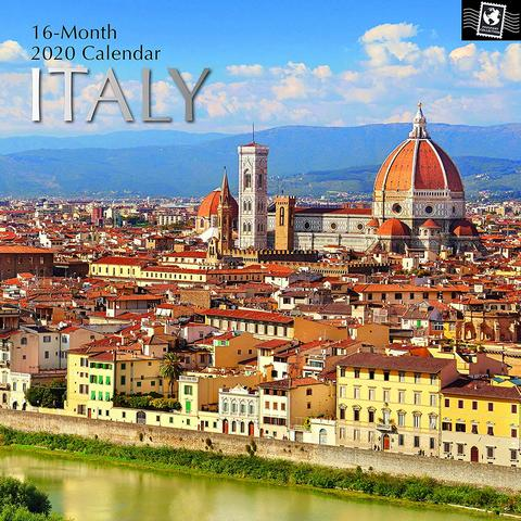 Italy 2020 Calendar High Quality Photographs 16 Large And Full Color Photographs Of The Most Notable Spots And Italy European Destination Travel Photographer
