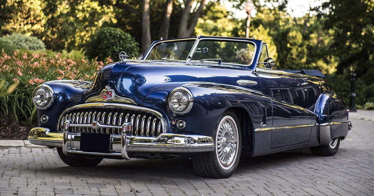 1947 Buick Super 8 Custom Convertible Resto Mod For Sale