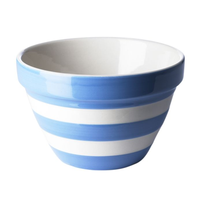 Cornish Pudding Basin Cornishware Classic British Kitchenware By T G Green Cornishware Striped Bowl Basin