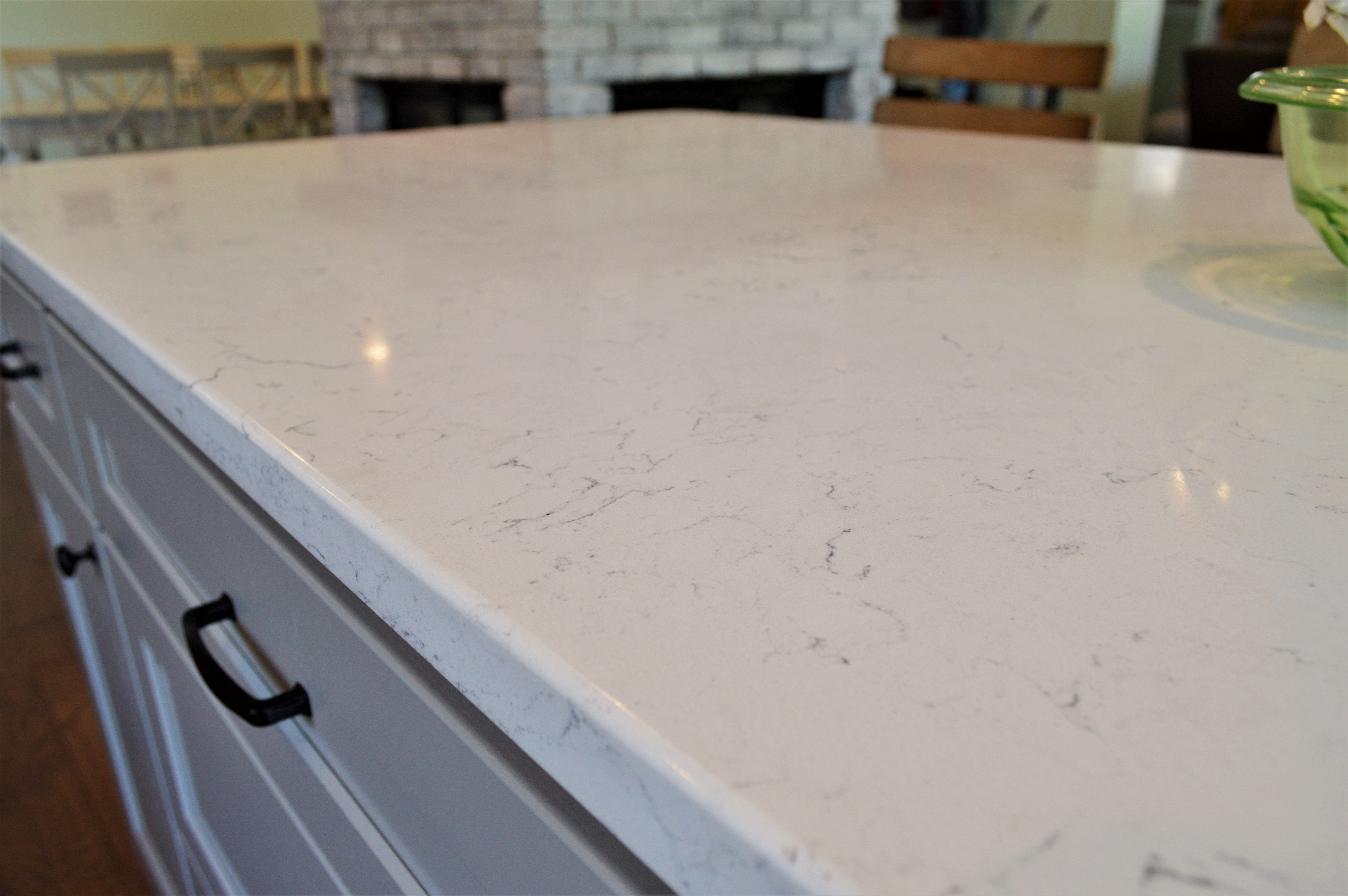 Bailey S Cabinets Quartz Counter Top Eased Edge Detail Bella