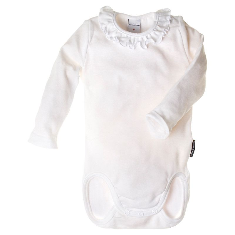 Buy Polarn O Pyret Baby Frill Neck Organic Cotton