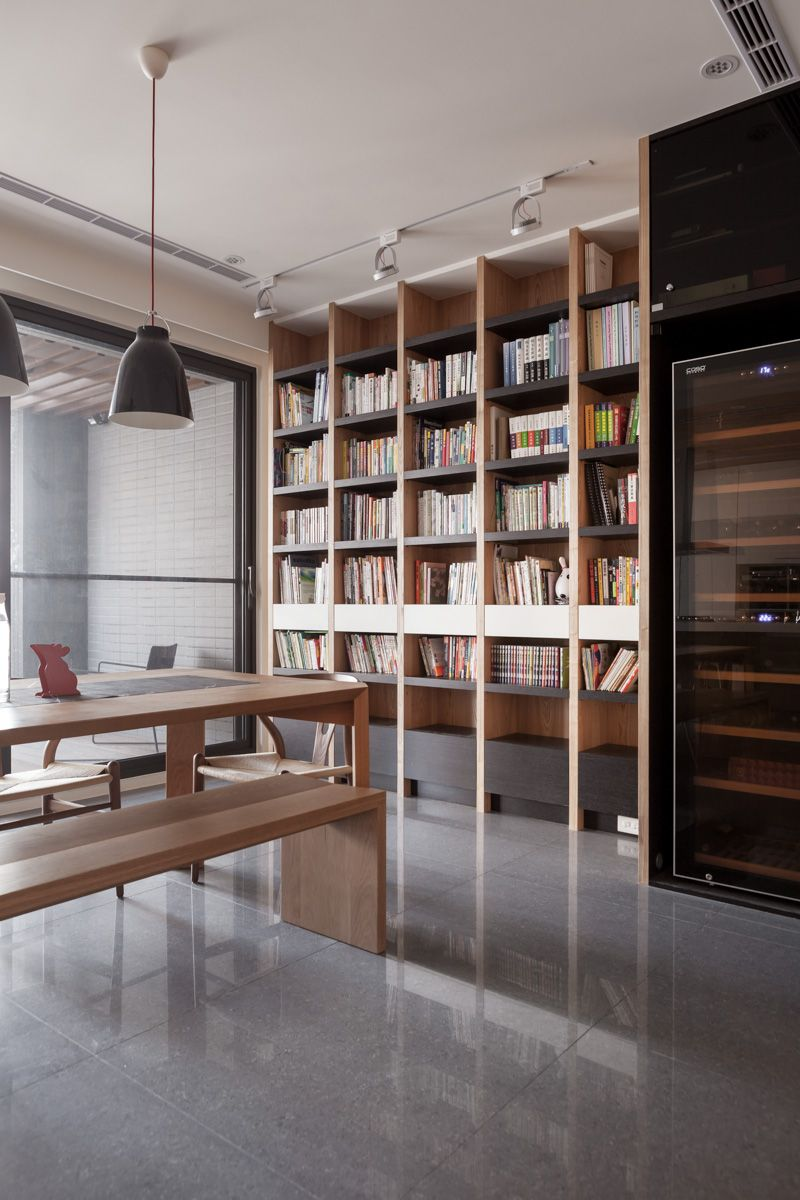 Library Study Room Ideas: Home Office Design