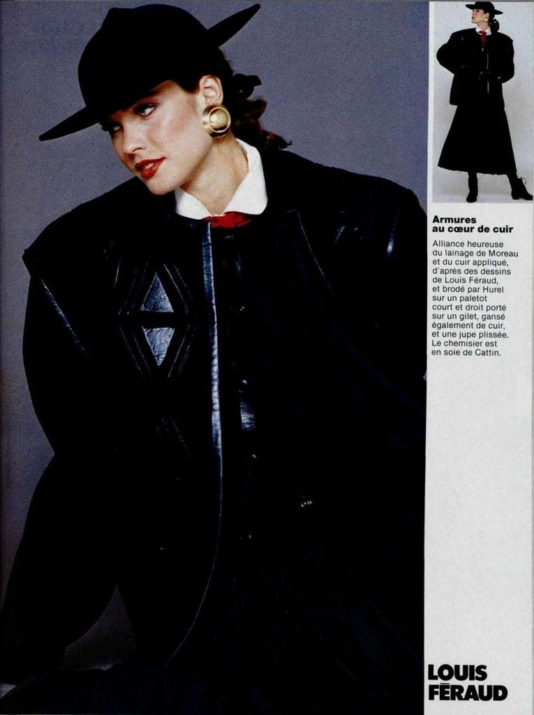 Louis Feraud 1980s | Супермодели, Фотосессия, Модели
