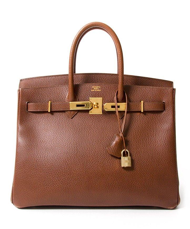 136eaf1836 koop veilig online tweedehands designer vintage hermes noisette birkin  vintage like new
