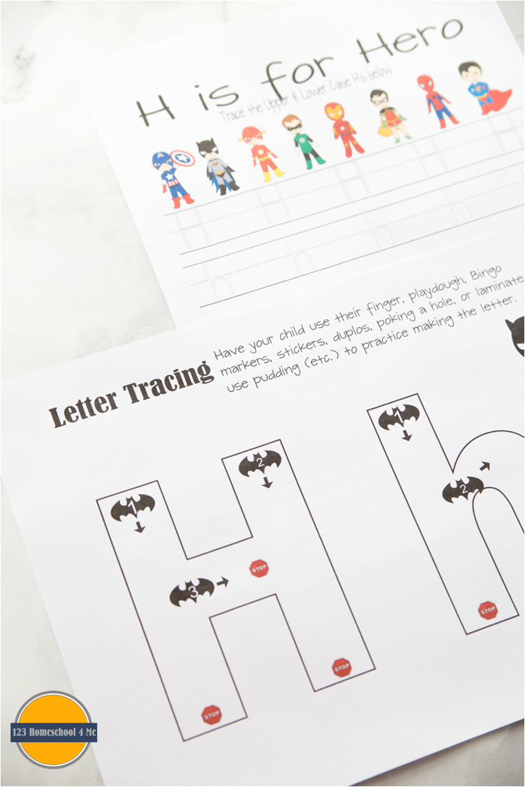 Worksheets Superhero Worksheets free superhero worksheets for kids pinterest super hero theme letter h alphabet practice with theme