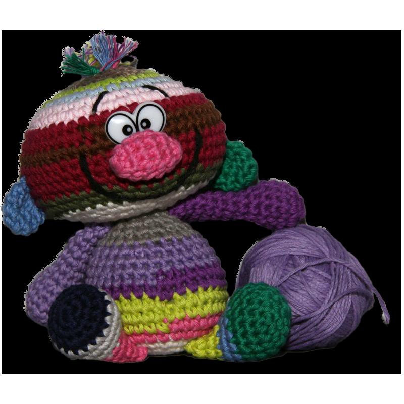 Resteverwertung, free crochet pattern; not in English   häkeln ...