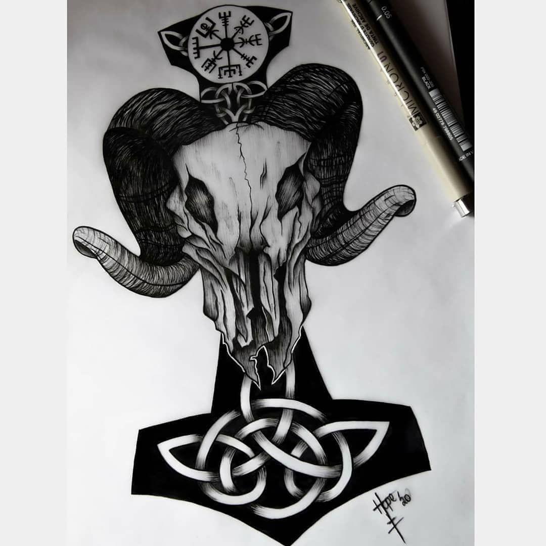 Pin On Viking Tattoos