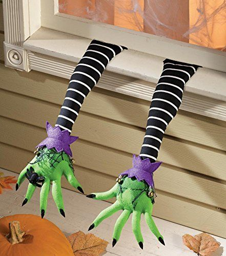 Pair Of Witch Arms Halloween Decoration Collections Etc