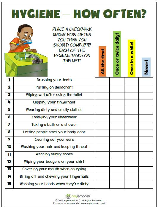 Hygiene How Often School Hygiene Lessons