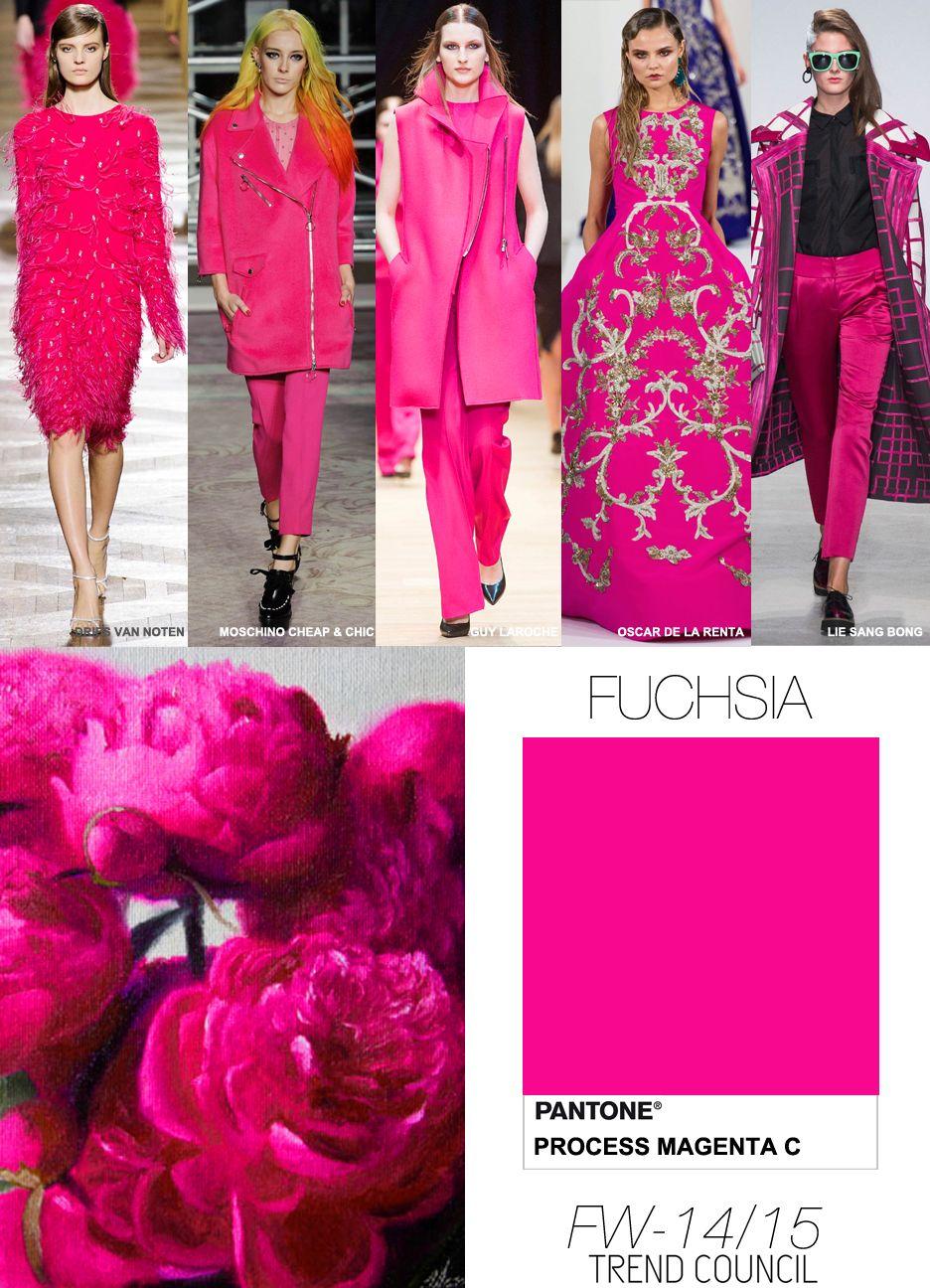 fw 14 15 fuchsia fuchsia pinterest damenmode und farben. Black Bedroom Furniture Sets. Home Design Ideas