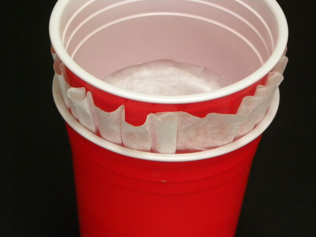 Noise Maker - 2 plastic cups!