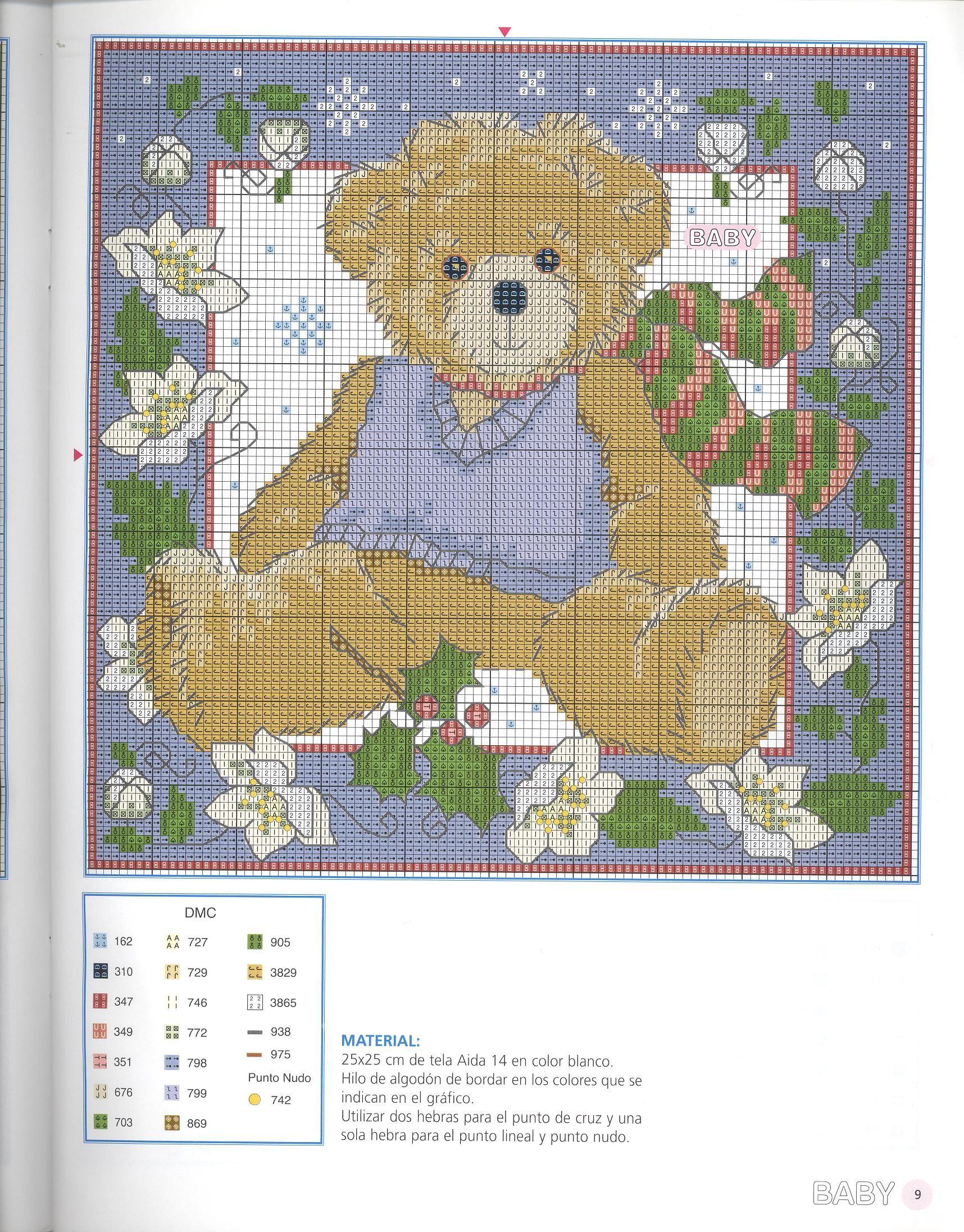 Boy teddy friend to sunny summer bear 2 of 2 patrones - Labores de punto de media ...