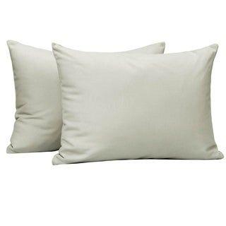 NTBAY Microfiber Toddler Pillowcases, 2 Pcs Zipper Closure Travel Pillow Covers (Light Grey), Gray