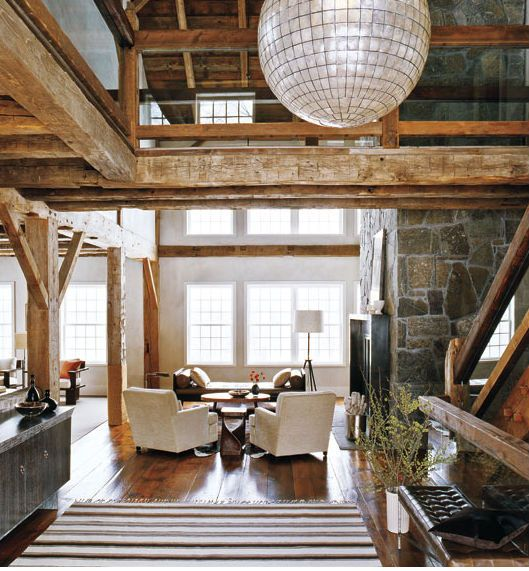 Chic and Natural: 13 More Rustic Modern Interiors | Rustic modern ...