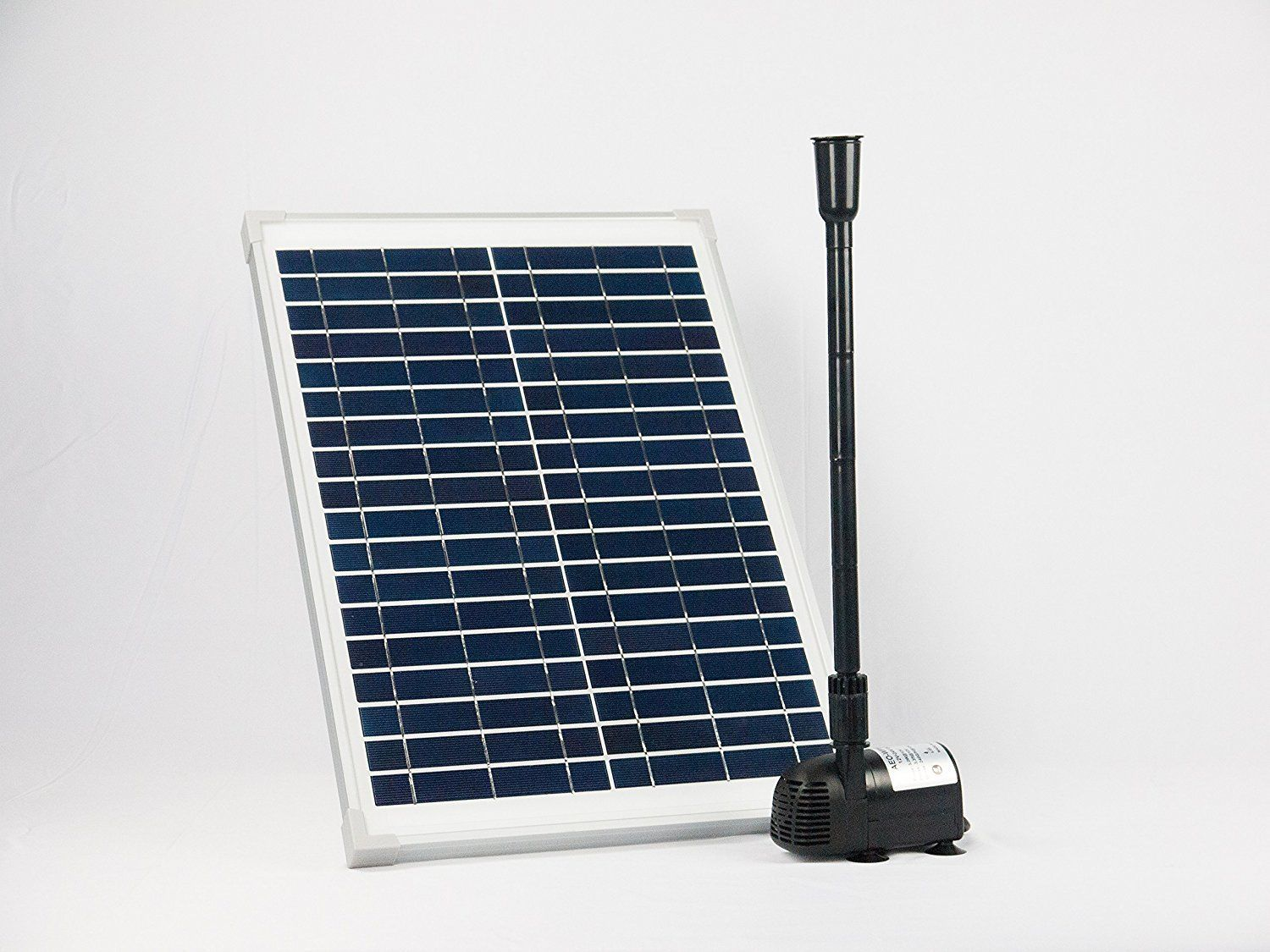 Solar Powered Water Fountain Kit Dcwaterpump Brushelsspump Solar Fountain Solar Panel Kits Solar Power Diy