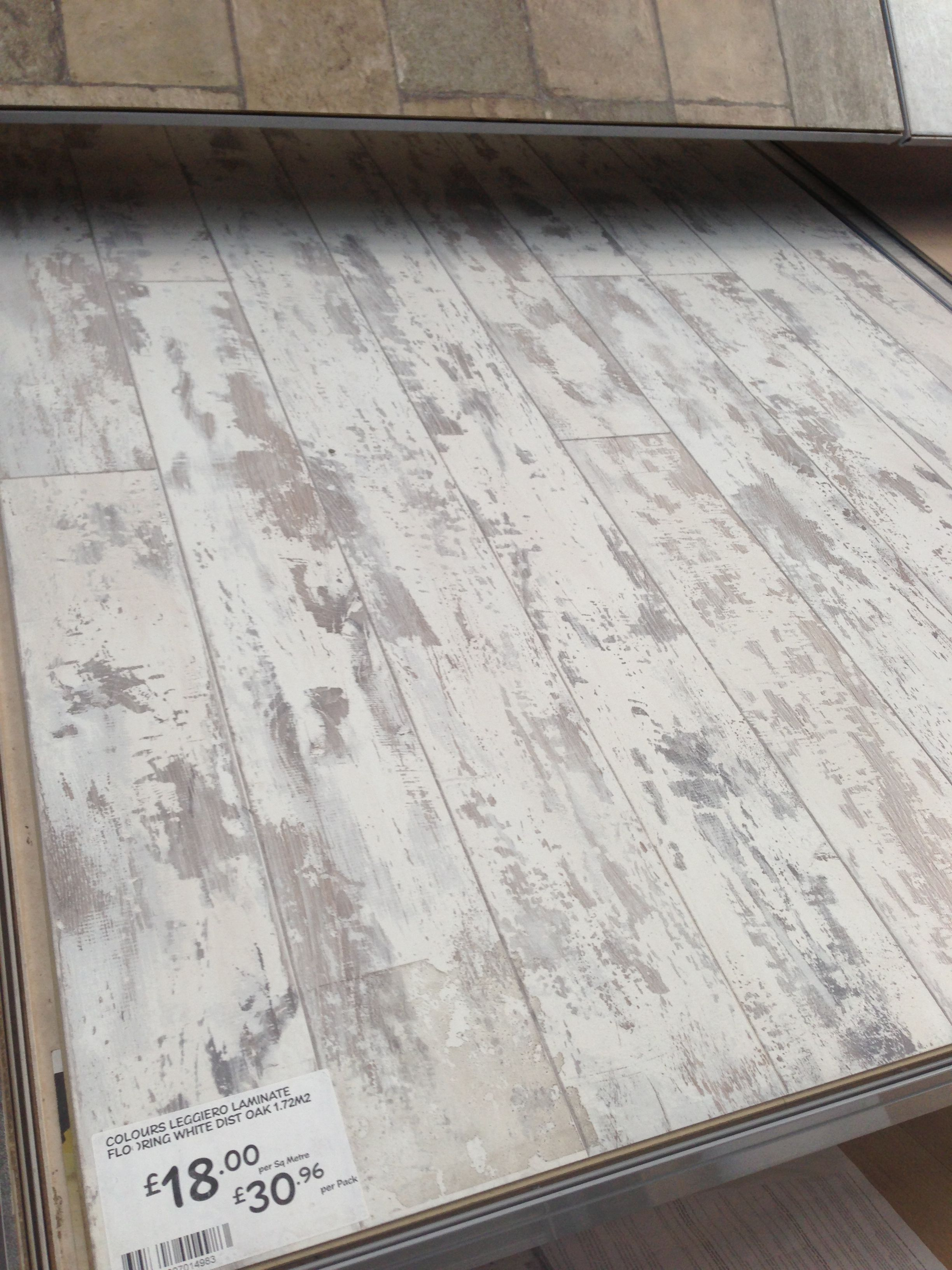 White Distressed Wood Flooring Home Ideas Pinterest