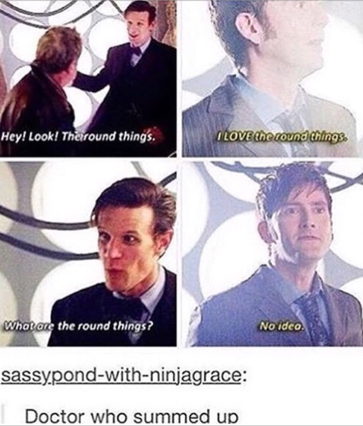 Best scene.  Also I too love the roundy things