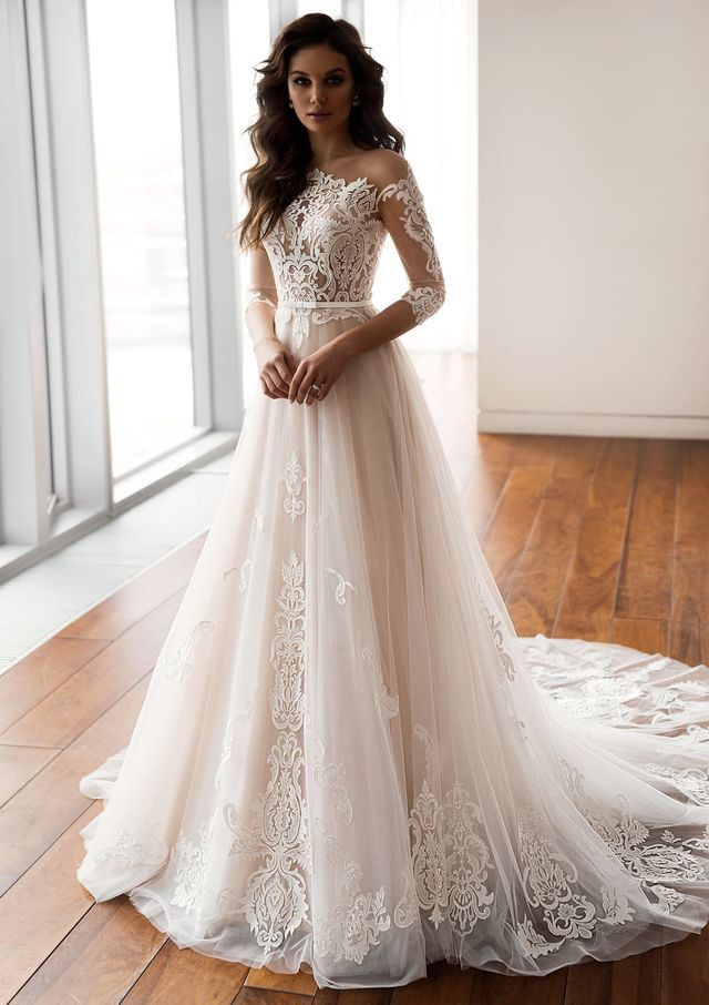 Pin By Jessica Underwood On Clothes For Every Taste Wedding Dresses A Line Wedding Dress Dream Wedding Dresses