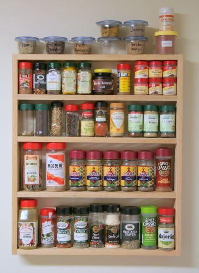 spice rack ideas pantry diy spice rack spice storage spices rh pinterest com