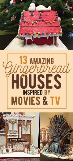 13 Epic Gingerbread Houses Inspired By Your Favorite Movie And Tv Shows Christmas Gingerbread House Gingerbread House Parties Gingerbread House Cookies