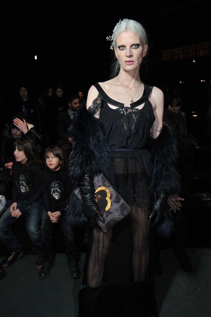 Front Row at Givenchy-Kristen McMenamy