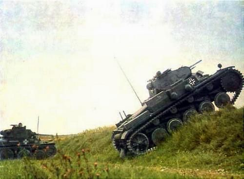 German Armored Forces Vehicles Ghost Division On The Move Belgium France 1940 Wwii Vehicles War Tank Panzer Ii