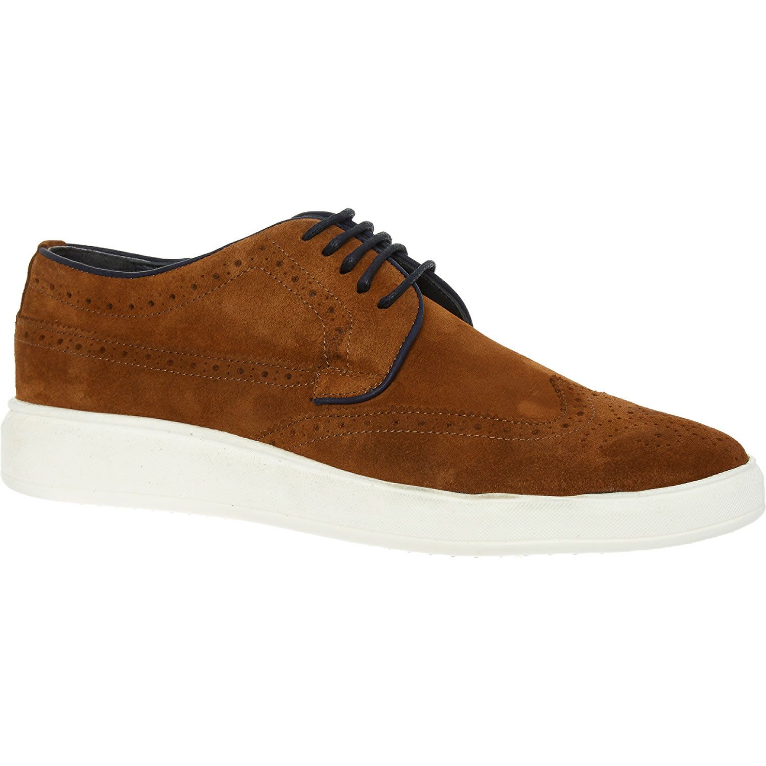 """""""S Baker"""" Tan Brown Derby Shoes TK Maxx Shoes, Derby"""