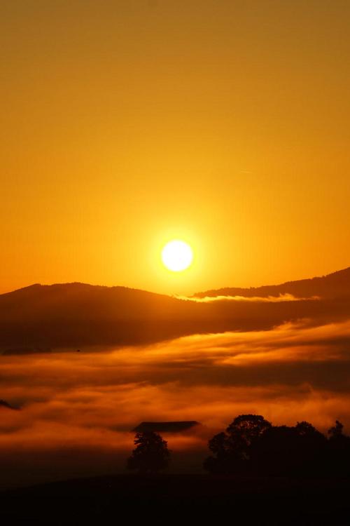 Burning Sunrise \\ Hans Jörg Leth
