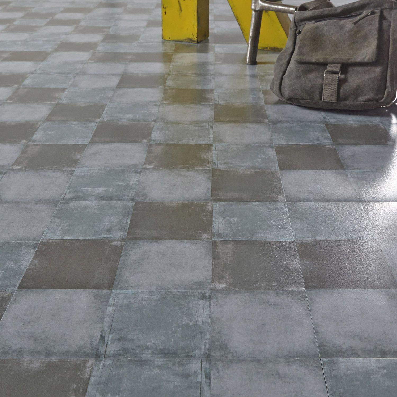 Dalle pvc adh sive design square medium gerflor 30 5 x 30 5 cm cuisine design - Dalle pvc cuisine ...