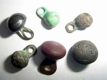 Medieval Renaissance ButtonsSet of 10Pewter Shank Ball Buttons Made in USA