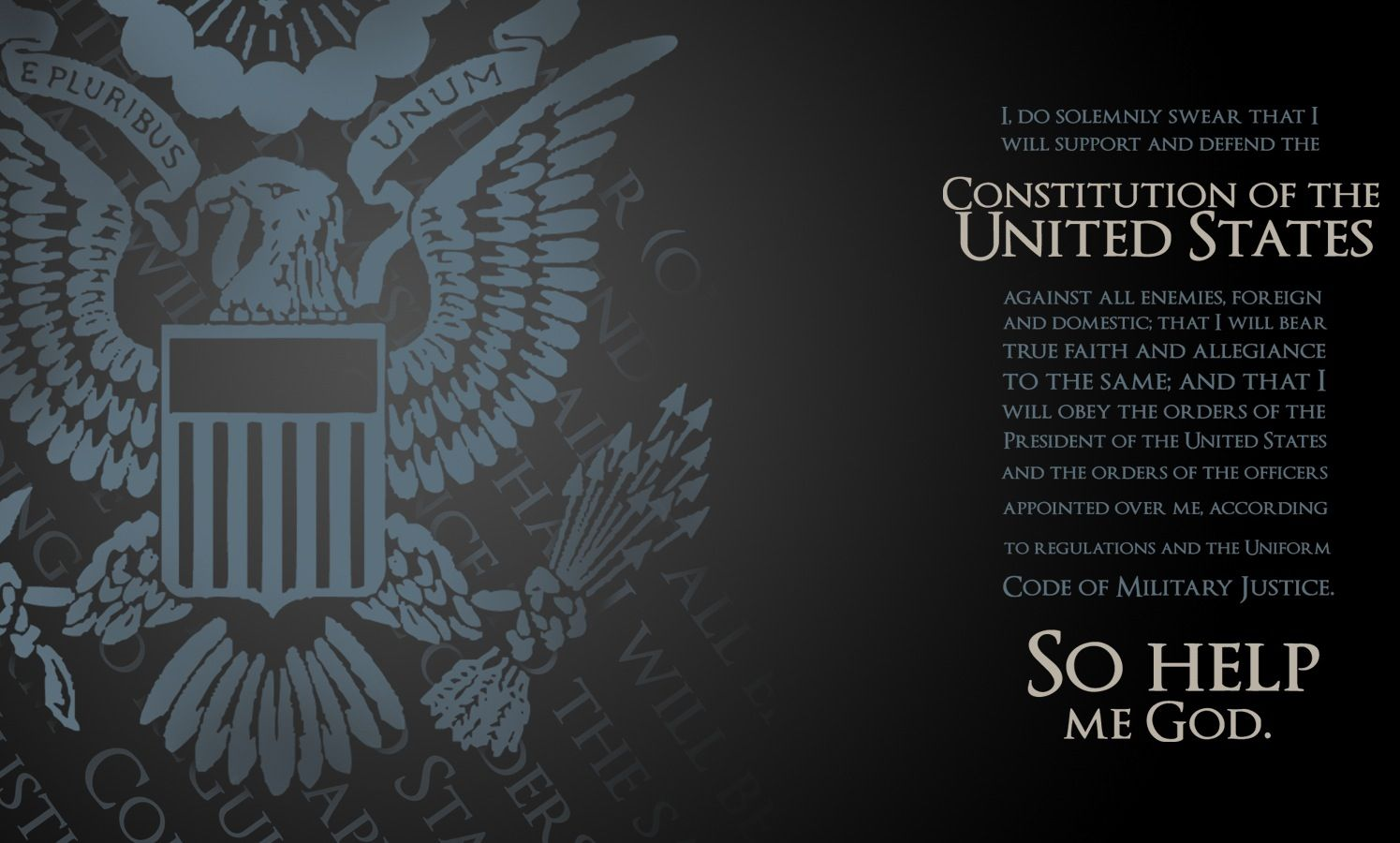 Oath of Enlistment Us army infantry, Army wallpaper
