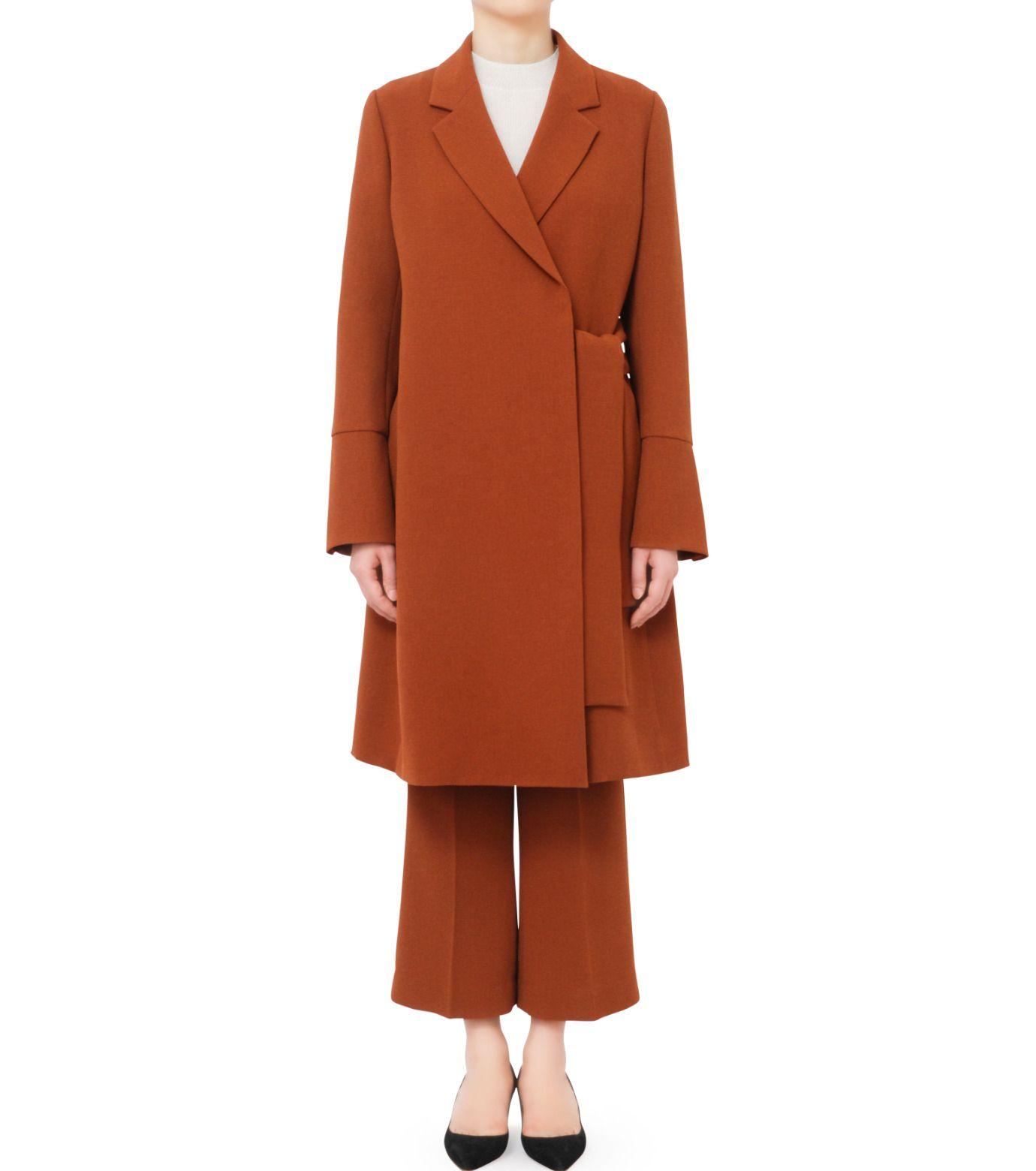 ルシェルブルー/LE CIEL BLEU - ボキシーベルトコート-CAMEL(コート/coat) | RESTIR リステア