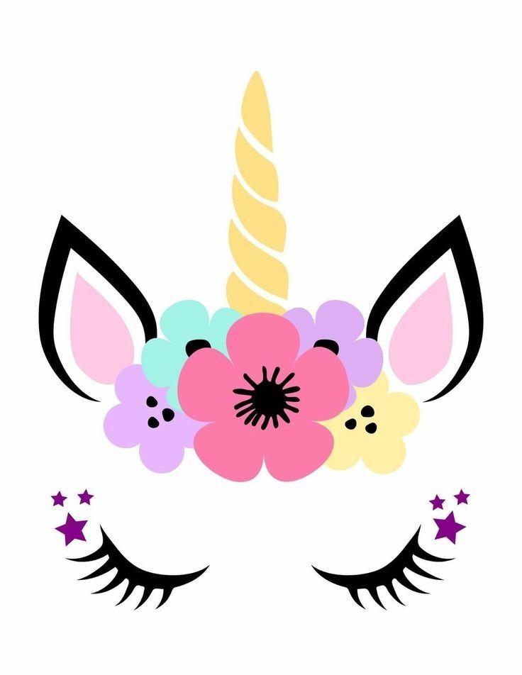 Yksisarviset In 2020 Unicorn Crafts Unicorn Face Unicorn Drawing