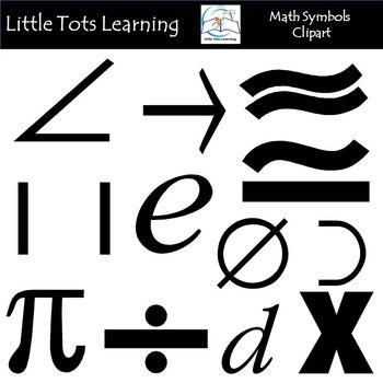 Math Symbols Clip Art Clip Art Math And Symbols