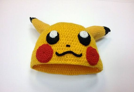Pikachu Pokemon Go Hat Crochet Pdf Pattern We Know That You And