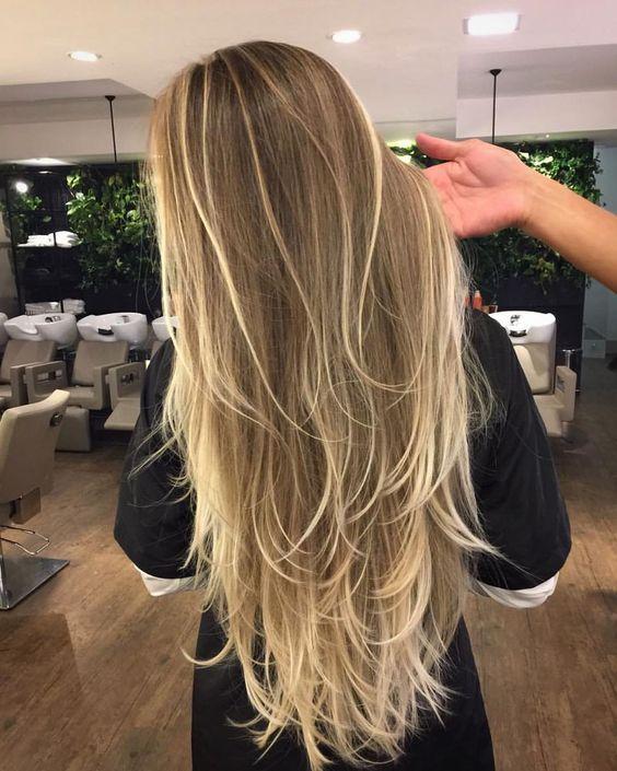 Como Fazer Luzes no Cabelo? ⇒ 63 Fotos + Passo a Passo!【 2019 】 #cabelos