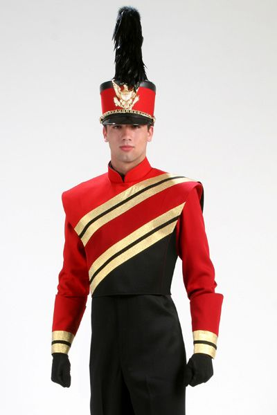 6146 | Band Uniforms | Band uniforms, Band, Drumline