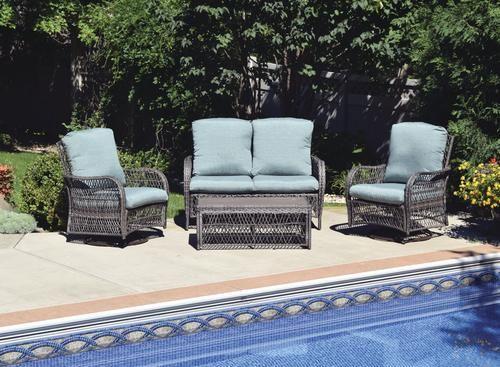 Backyard Creations Windon Park 4 Piece Deep Seating Patio Set At