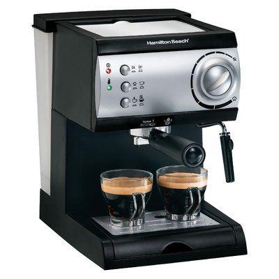 Hamilton Beach Hamilton Beach Espresso Maker | Wayfair #espressomaker