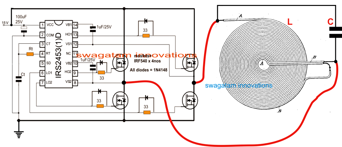 Induction Stove Wiring Diagram:  Electronica RS rh:pinterest.com,Design